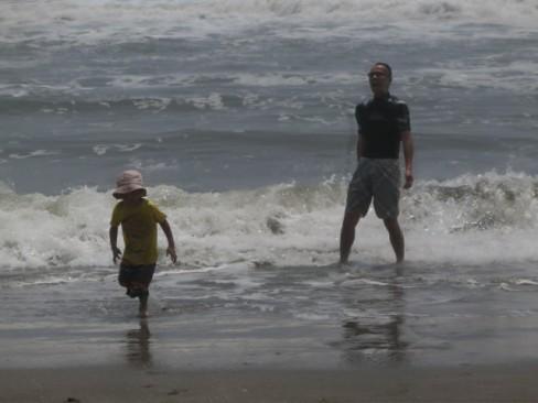 今年の夏は九十九里浜白里海岸へどうぞ!東京から1時間15分、今年は有料道路も無料ですよ。