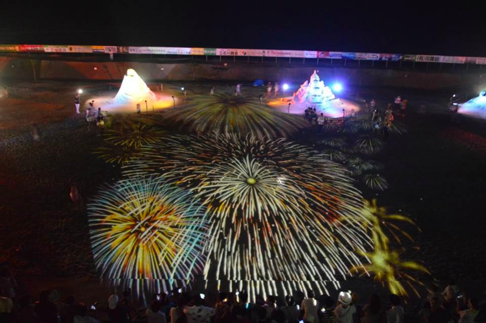 あさひ砂の彫刻美術展2015に行ってきた。九十九里浜にこんな祭典があったのか!