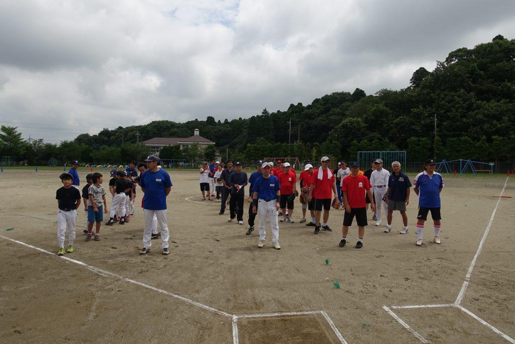 地元の親善ソフトボール大会に参加、オヤジだらけの懇親会も最高じゃ!